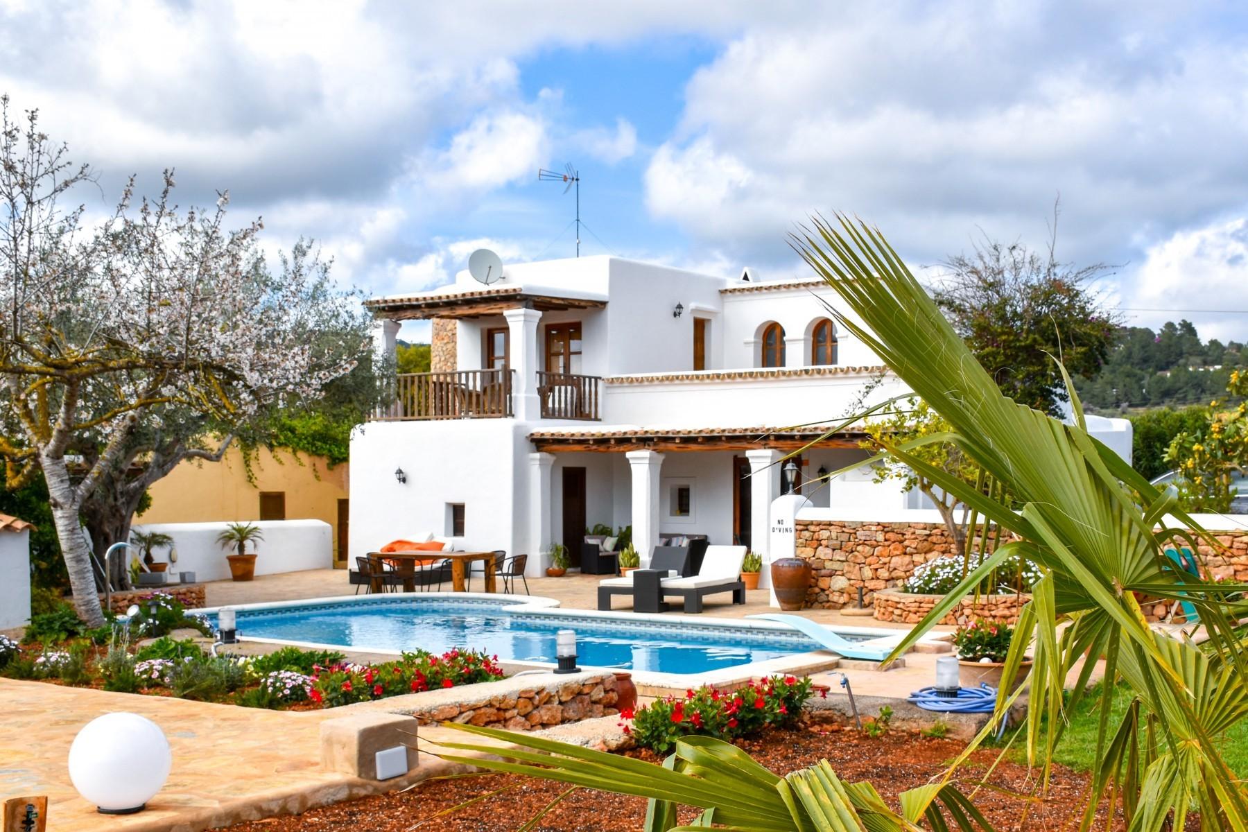 casa rural Las Dalias en Ibiza