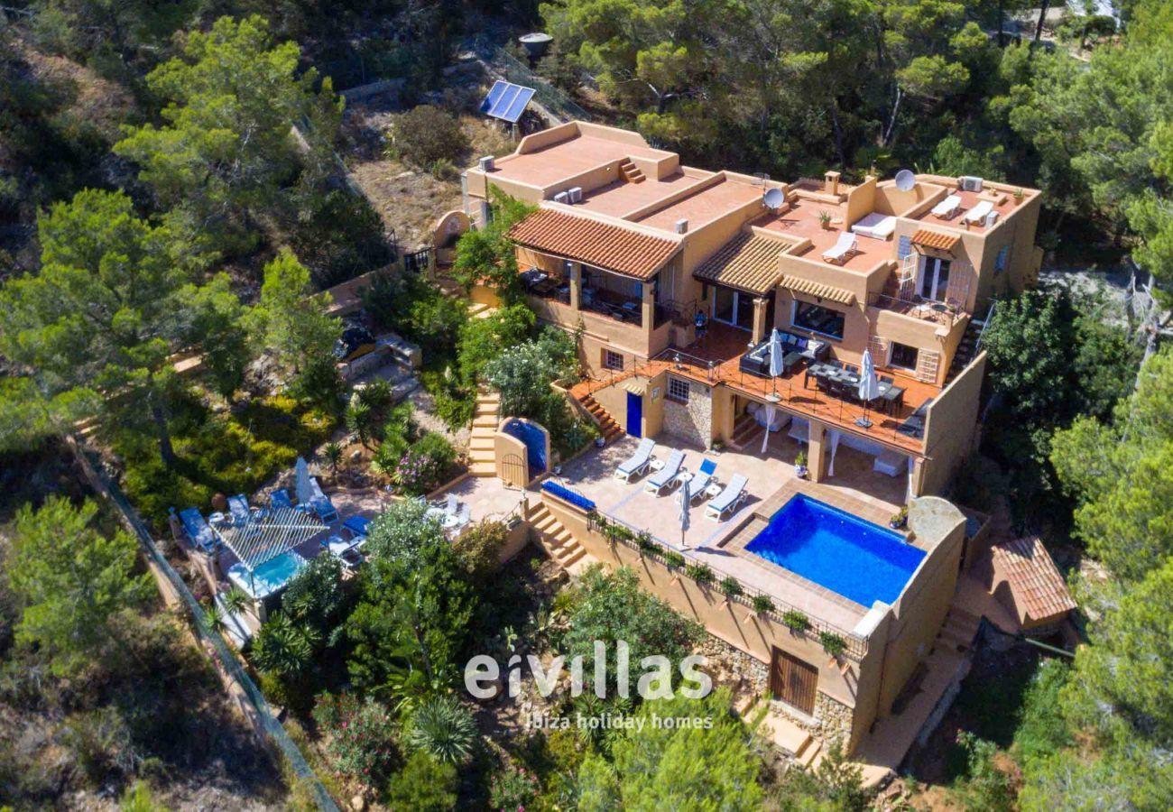 Vista Aerea Casa Capricho Ibiza
