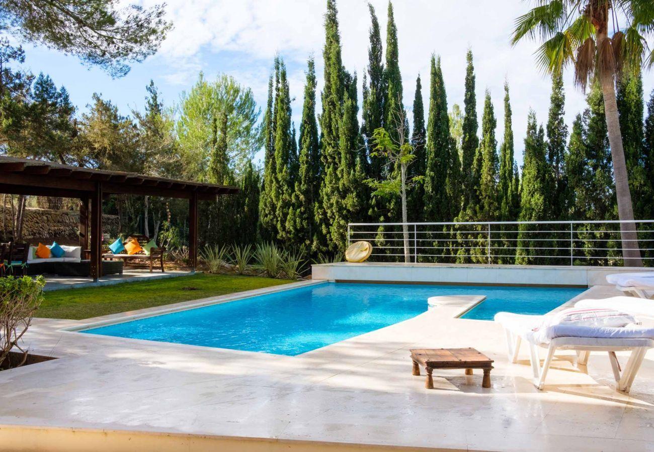 Casa Can Jaume Curt con Piscina