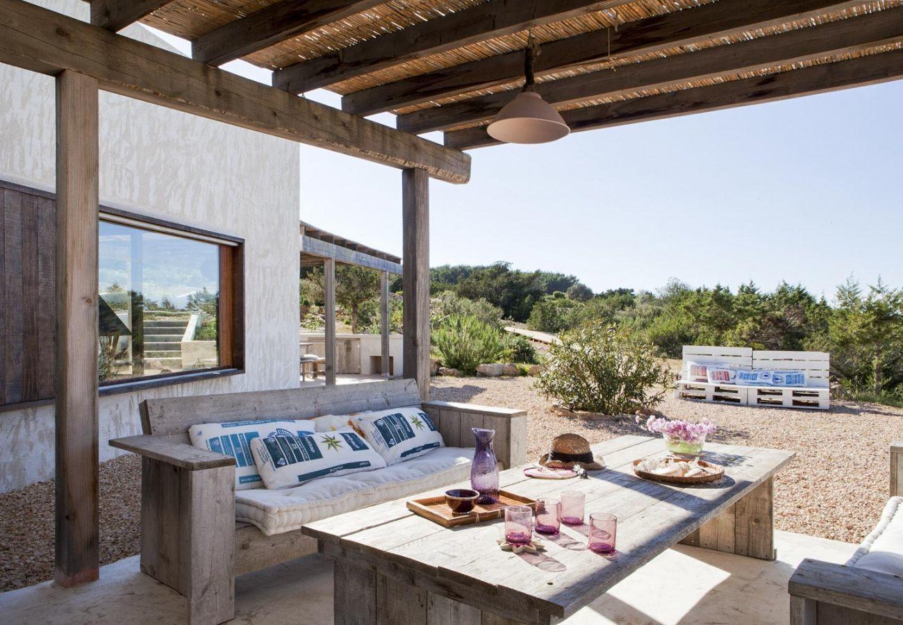 villas vacacionales en Formentera