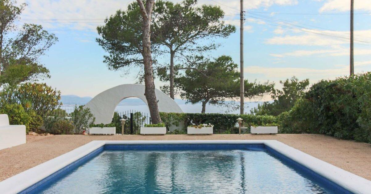 Vistas desde la Casa Negret en Ibiza