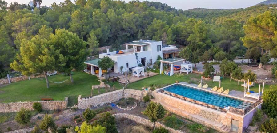 Villa Sarahmuk en Ibiza